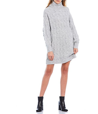 GB Turtleneck Sweater Dress