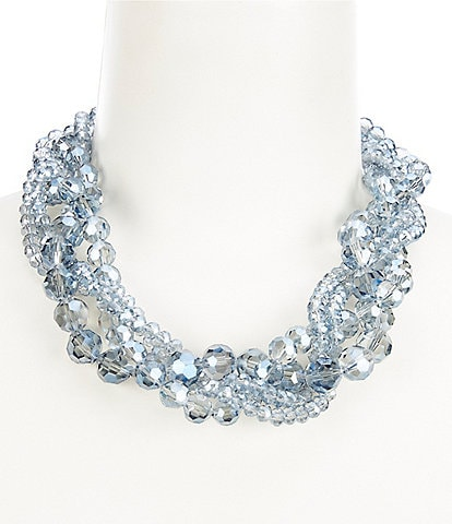 Gemma Layne Beaded Torsade Collar Necklace