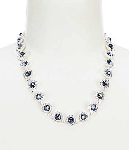 Gemma Layne Elegant Pave Frontal Necklace