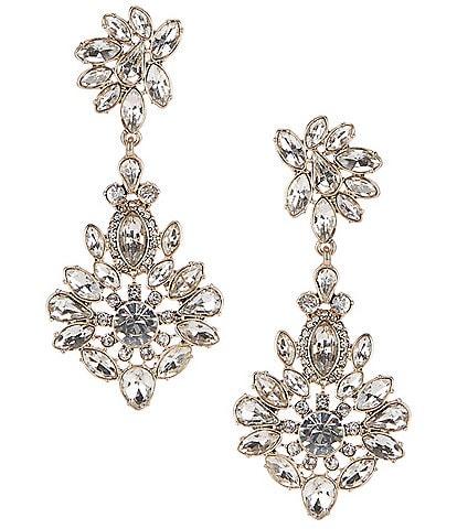 Gemma Layne Fancy Drop Statement Earrings