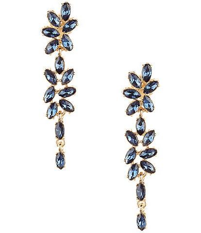 Gemma Layne Montana Linear Drop Statement Earrings