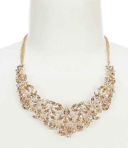 Gemma Layne Multi Stone Frontal Necklace