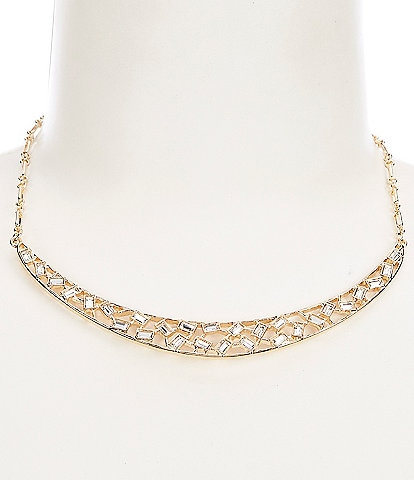 Gemma Layne Stone Bar Frontal Necklace