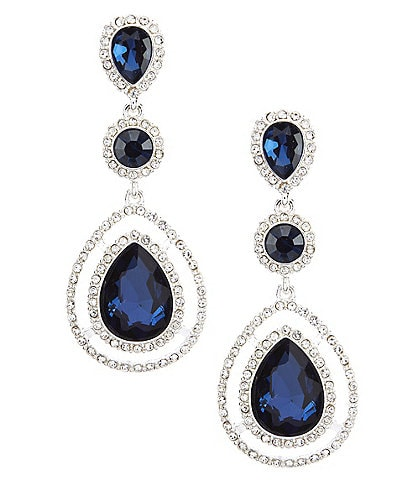 Gemma Layne Triple Tear Drop Statement Earrings