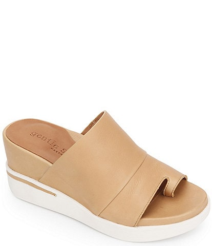 Gentle Souls Gisele 65 Sporty Leather Mules