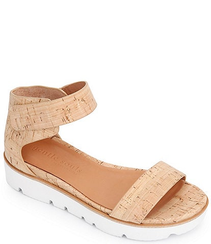 Gentle Souls Lavern Easy Strap Cork Sandals