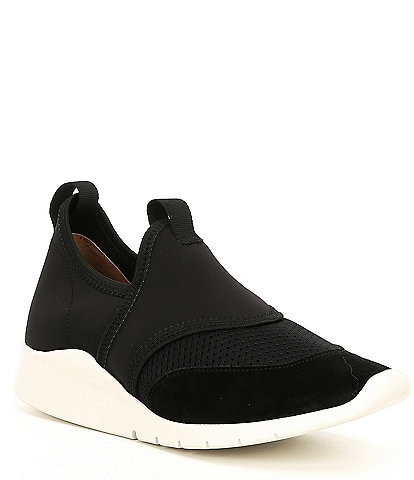 Gentle Souls Raina Lite Sporty Slip On Wedge Sneakers