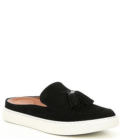 Gentle Souls Rory Suede Slip On Mules