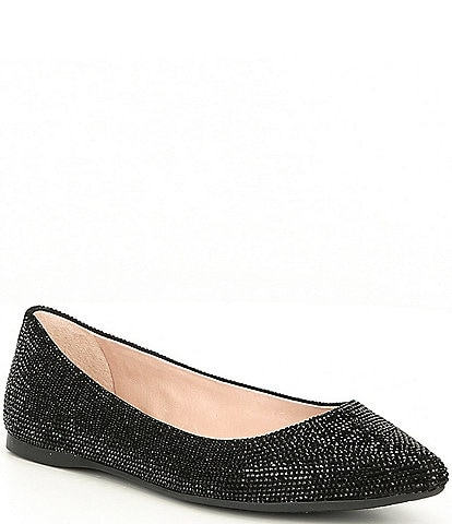 Gianni Bini Adaleigh Rhinestone Point-Toe Flats