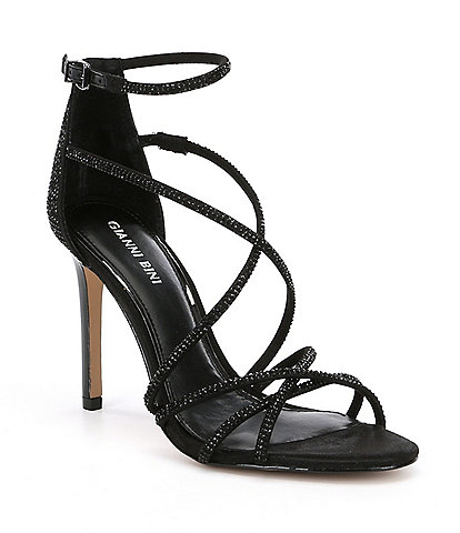 Gianni Bini Anselle Jeweled Strappy Dress Sandals
