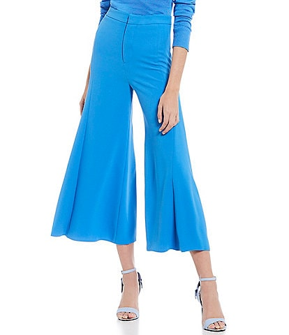 Gianni Bini Belle Cropped Wide Leg Culotte Pant
