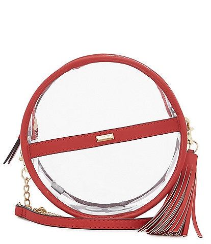 Gianni Bini Clear Circle Stadium Crossbody