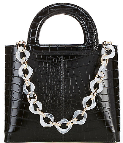 Gianni Bini Colorful Chain Satchel Bag