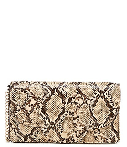Gianni Bini Curvy Snake Clutch Crossbody Bag