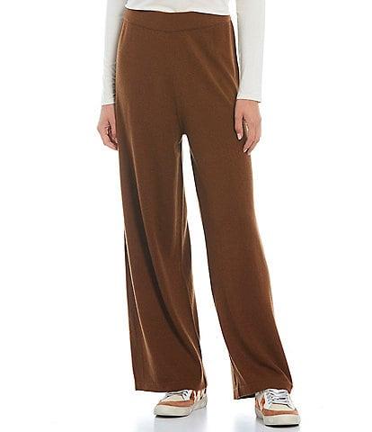 Gianni Bini Daphne High Waist Wide Leg Pull-On Pants