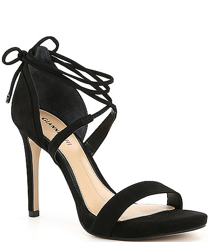 Gianni Bini Daymey Strappy Ankle-Tie Dress Sandals