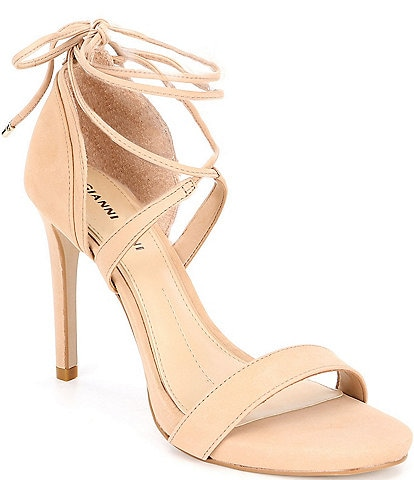 3a9381201 Gianni Bini Daymey Ankle-Tie Dress Sandals