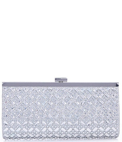Gianni Bini Encrusted Frame Clutch Bag