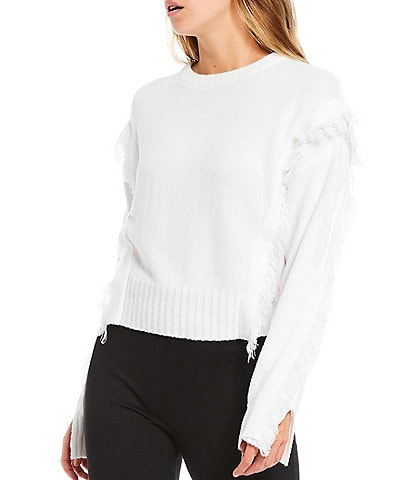 Gianni Bini Glen Fringe Sweater