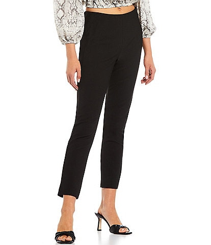 Gianni Bini Houston Twill High Rise Slim Leg Pant
