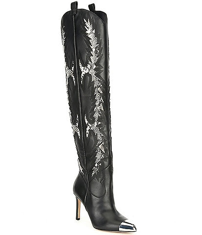 Gianni Bini Katyanna Over-the-Knee Western Dress Boots