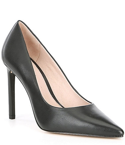 Gianni Bini Larienna Leather Pointed-Toe Stiletto Pumps