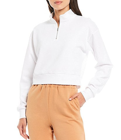 Gianni Bini Lia Cropped Sweatshirt