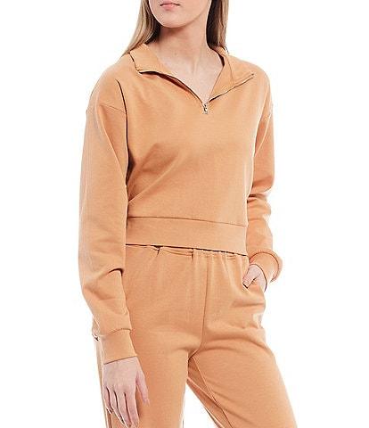 Gianni Bini Lia Cropped Sweatshirt