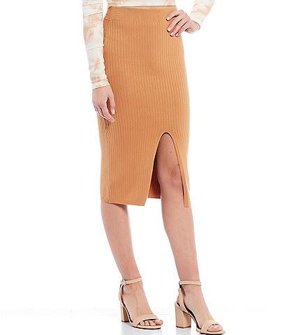 Gianni Bini Madi Sweater Midi Skirt