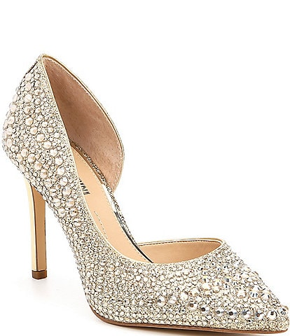 bf8695a6e5 Gianni Bini Mairah Jeweled D'Orsay Pumps