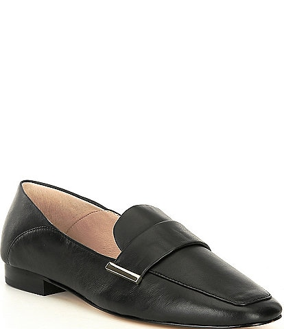 Gianni Bini Maivie Leather Flat Loafers