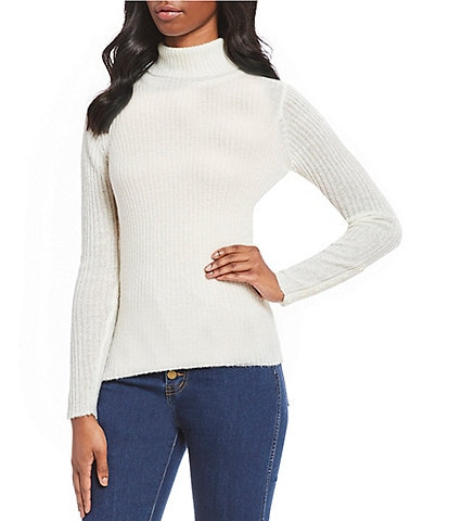 Gianni Bini Melanie Long Sleeve Turtleneck Sweater