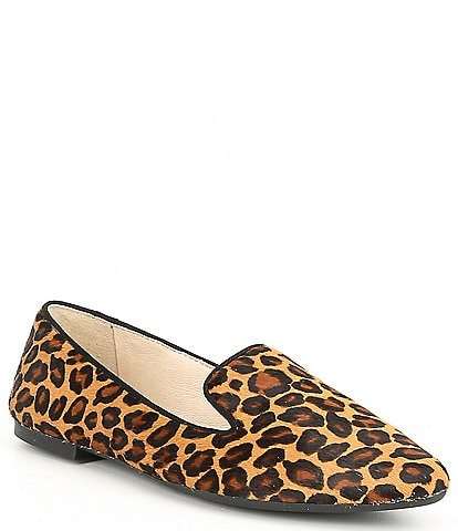 Gianni Bini Melbin High Vamp Leopard print Loafers