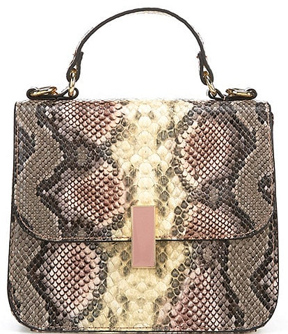 Gianni Bini Mia Snake Print Crossbody Bag