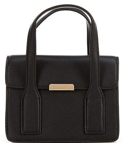 Gianni Bini Textured Mini Flap Satchel Bag