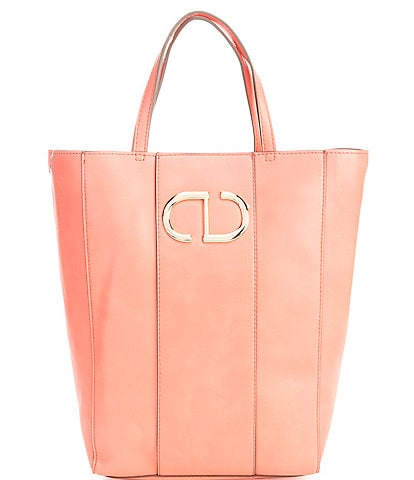 Gianni Bini Olivia Magazine Leather Tote Bag