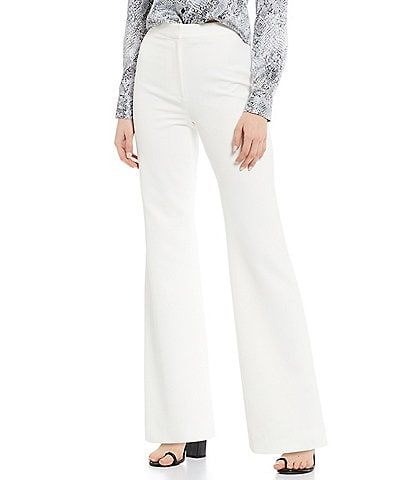 Gianni Bini Penny High Waist Palazzo Crepe Suiting Pant