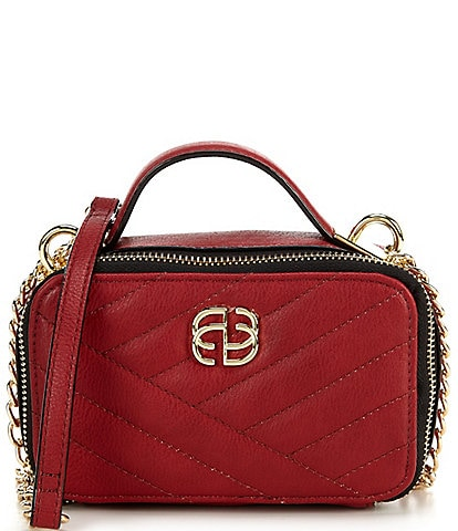Gianni Bini Quilted Chain Strap Crossbody Bag