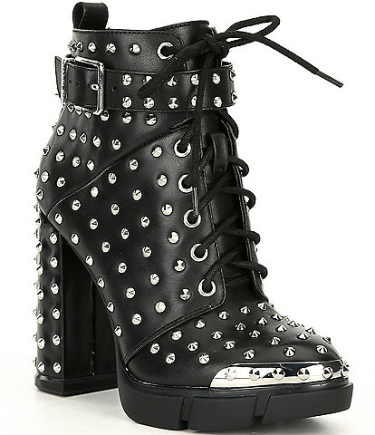Gianni Bini Rhiannen Studded Hiker Booties