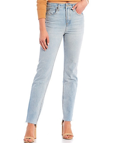 Gianni Bini Riley Ankle Straight Jeans