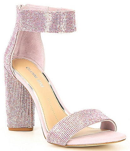 Gianni Bini Ronilynn Bling Jewel Embellished Sandals