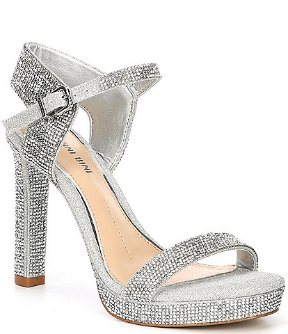 Gianni Bini Rosielynn Jeweled Dress Sandals