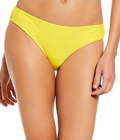 Gianni Bini Solid Retro Bikini Swimsuit Bottom
