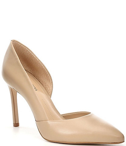 Gianni Bini Venicia Leather d'Orsay Pumps