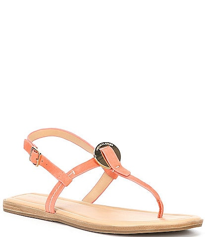 Gibson & Latimer Braelyn Suede Ornament Sandals