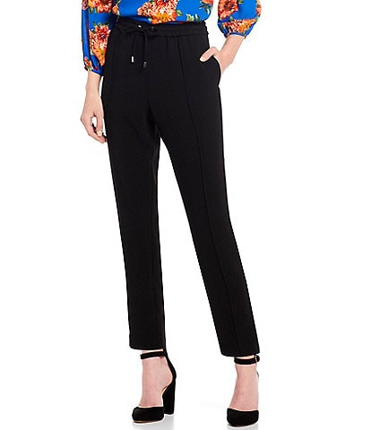 Gibson & Latimer Drawstring Waist Stretch Ankle Pant
