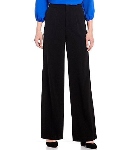 Gibson & Latimer Georgette Wide Leg Pant