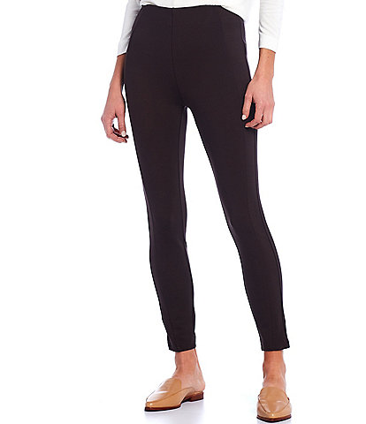Gibson & Latimer High Rise Seamed Front Pull-On Ponte Leggings