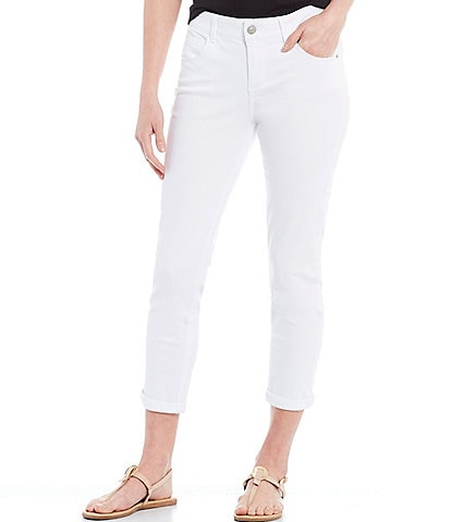 Gibson & Latimer Perfect Fit Crop Skinny Twill Pants