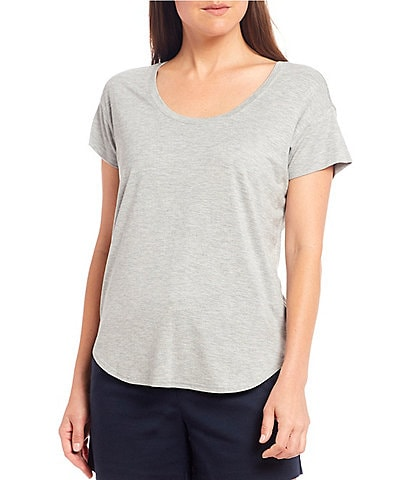 Gibson & Latimer Scoop Neck Knit Tee